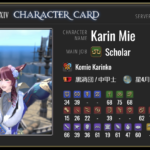 Let's Make a Character Card