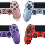 PS4コントローラに新色発売