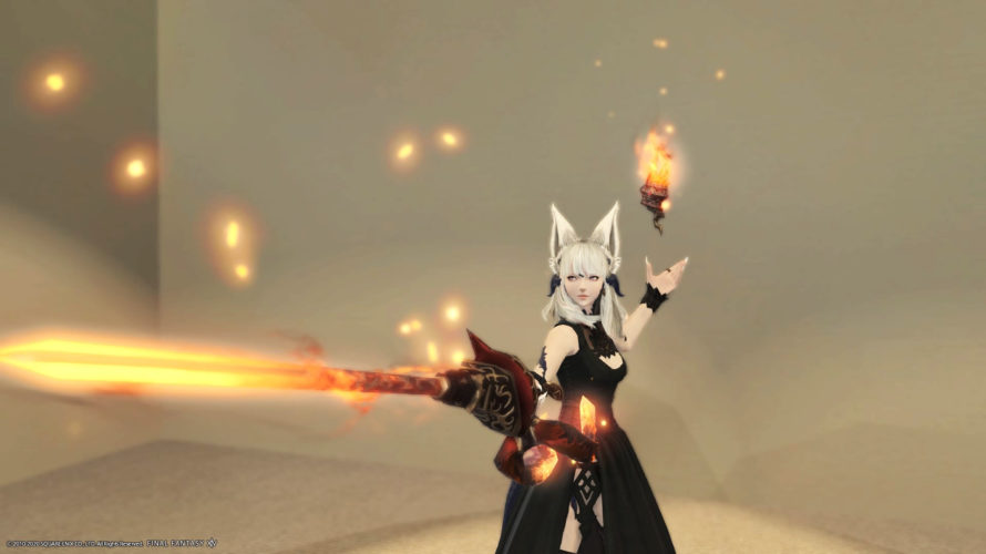 Burning! Ifrit's Weapons [Magic Ranged]
