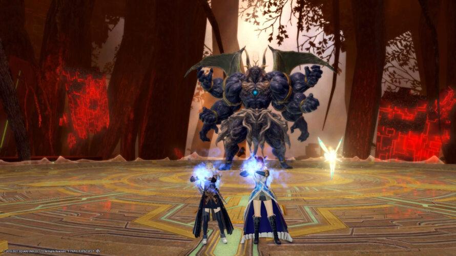 【FF14】2人で挑戦!極魔神セフィロト討滅戦#1
