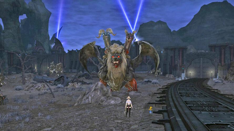荒れ狂う巨獣「ゴーキマイラ」